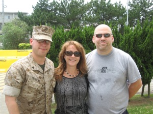 Al, Lisa, and Danny--after Basic Training