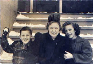 Dad, Grandma Babe and Aunt Joan